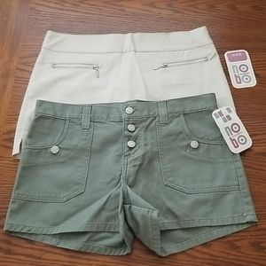 Junior's NOBO Shorts & Scooter size 7